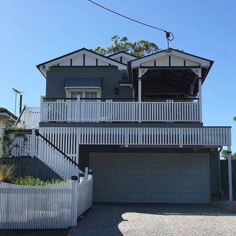 You've got to love a Queenslander with a big front deck. This one was renovated last year