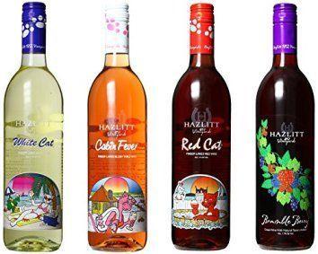 NV Hazlitt 1852 Vineyards Sweet Deal, Mixed Pack of 4 750ml Bottles ...