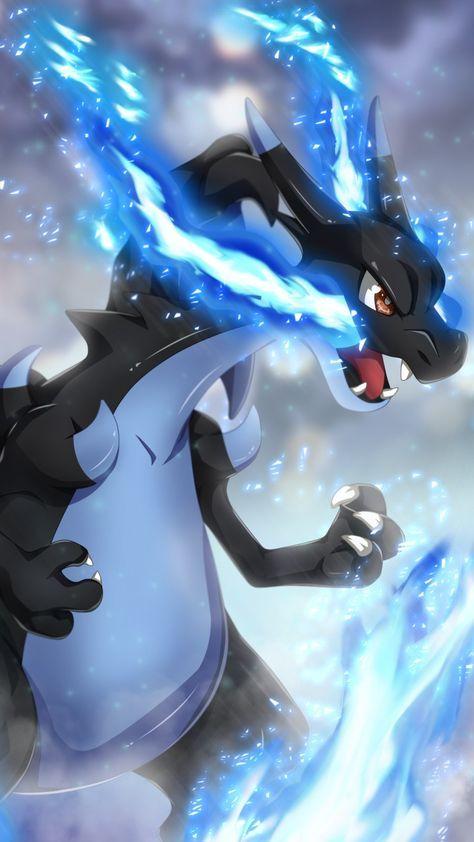 It S Mega Charizard X The Mega Evolution Of Charizard Pokemon