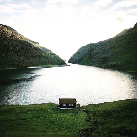 Pure cabin goals on the Faroe Islands  Who would spend some days here? Im in for sure!