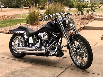 eBay: 1998 Harley-Davidson Softail 1998 Softail Custom