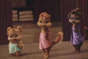 Aatc Chipwrecked Chipettes In Towels By Iamtherainbow26 With