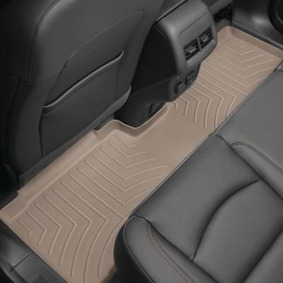 Weathertech Tan Rear Floorliner Lincoln Navigator 2018 L Models Will Require Trimming Along Re Scored Lines To Accommodate 1st Ro Volkswagen Jetta Honda Pilot Lexus Ls