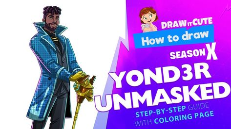 How To Draw Y0nd3r Unmasked Fortnite Fortnitebattleroyale Fanart Season10 Drawings Howtodraw Drawingtutorial Fortnite Step Tutorials Coloring Pages Listen to y0nd3r | soundcloud is an audio platform that lets you listen to what you love and share the sounds you create. www pinterest jp