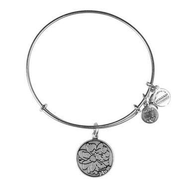 Alex and Ani Mom Charm Bangle Bracelet - Rafaelian Silver Finish - Item 19278712 | REEDS Jewelers
