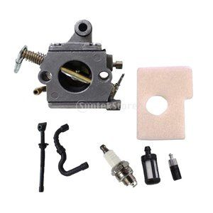 Carburetor Carb Kit for STIHL MS170 MS180 017 018 Chainsaw Filter Fuel Oil Line