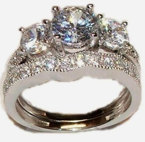 Gems and Jewels Princess Ring .925 Sterling Silver Plating Twotone Multi-color Cz Princess Engagement /& Wedding Ring