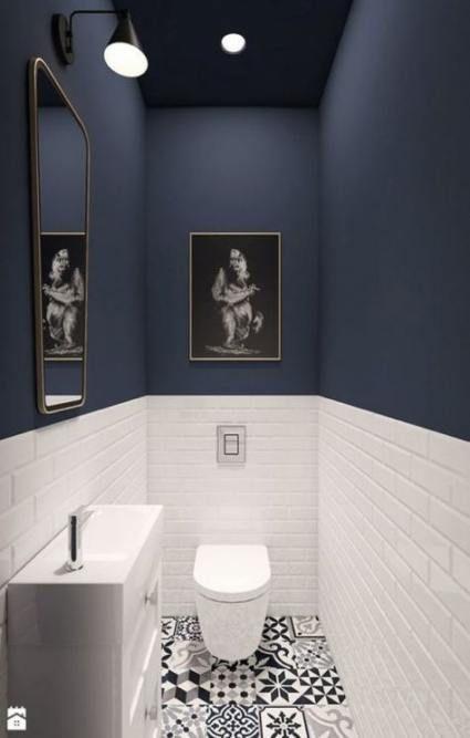 Super Bath Room Half Wall Tile Ideas Small Toilet Room Bathroom Interior Design Small Bathroom Makeover