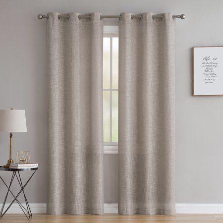 dc360054290cc9b52cf7fc60bcb56984 - Better Homes & Gardens Heathered Window Curtain Panel