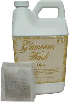 Candle Glamorous Wash Diva Half Gallon 64 Oz Laundry Detergent