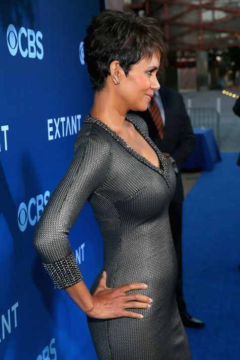 Halle Berry attends Premiere Of CBS Films' 'Extant' at California Science Center on June 2014 in Los Angeles, California. Halle Berry attends Premiere Of CBS Films' 'Extant' at California Science Center on June 2014 in Los Angeles, California.