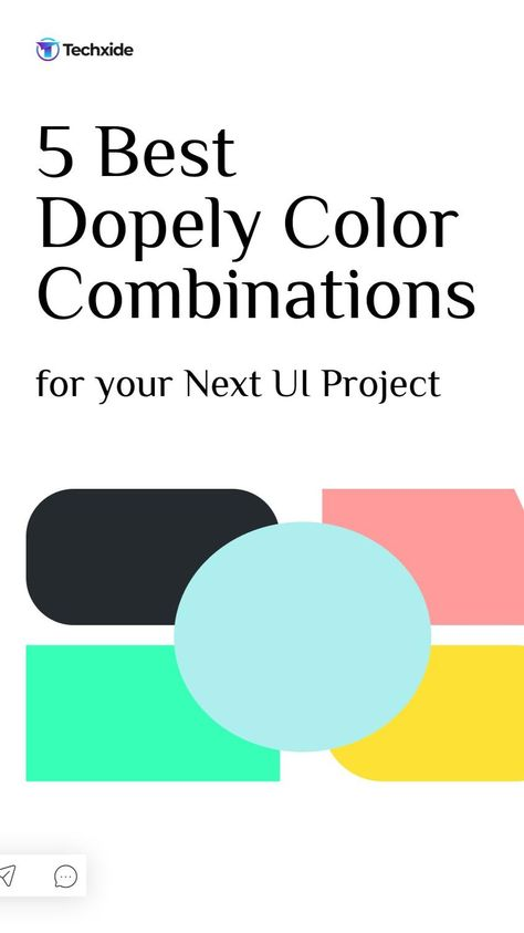 5 Best Dopely Color Combinations for your Next UI Project