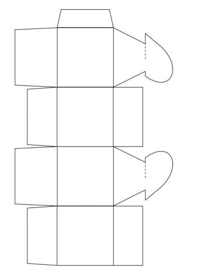 Liebevoll Verpackt 3 Muster Fur Faltschachteln