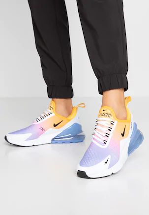 W Air Max 270 in Washed Coralblack laser fuchsia orange Peel
