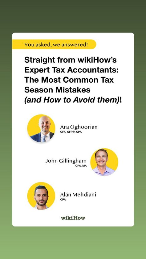 Expert insights: How to avoid the most common tax mistakes!