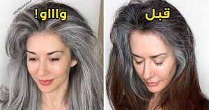 مصفف شعر عالمي يظهر للنساء جمال الشعر الأبيض ليتوقفن عن صبغ شعرهن Girl Inspiration