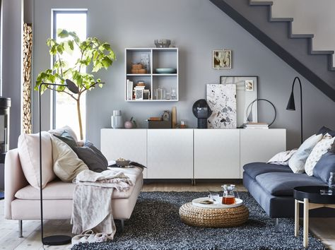 Ongebruikt BESTÅ Basiselement - zwartbruin 60x40x64 cm | Ikea woonkamer IV-53