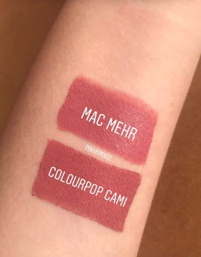 Colourpop Cami : colourpop, Colourpop, Lippie, Review,, Dupes, Swatches, Colourpop,, Color, Lipstick,, Lipstick