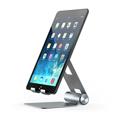 Satechi R1 Aluminum Multiangle Foldable Tablet Stand For Ipad Ipad Pro Iphone 7 Samsung S8 Macbook 20152016 Microsoft Surface Tablet Stand Ipad Stand Aluminum Hinges
