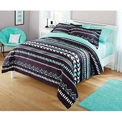 Your Zone Tribal Bedding Comforter Set Twin Walmart Com