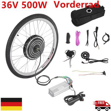 "26"" 36V 250W Elektro Ebike Conversion Kit Vorderrad Elektrofahrrad Umbausatz"