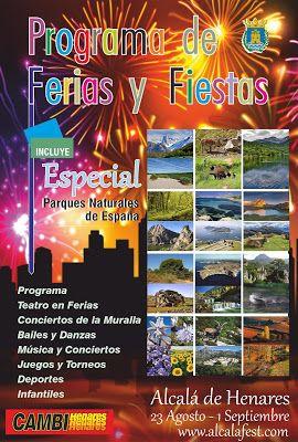 Ferias Y Fiestas Alcalá De Henares 2019 Parques Naturales España Parques Naturales Alcala De Henares