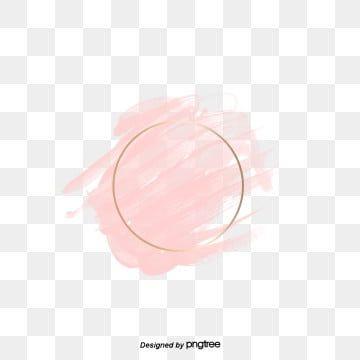 Borda Redonda Aquarela Rosa Circular Borda Redonda Aguarela Imagem Png E Psd Para Download Gratuito Blush Pink Logo Flower Background Wallpaper Logo Background