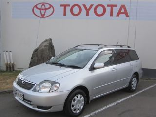 Toyota Corolla Suv Fielder S Silver 2001 For Sale