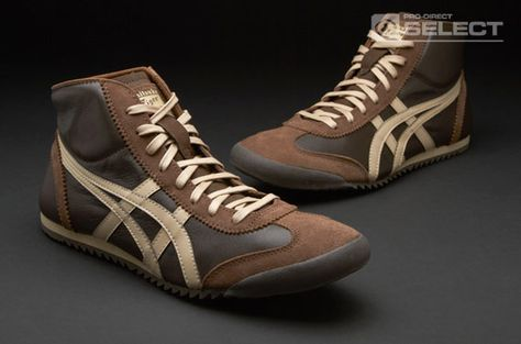 Onitsuka Tiger - Mexico Midrunner DX LE - Mens Footwear - Chocolate Brown - Cuban Sand