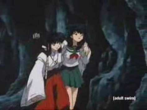 Kikyou Kagome Alone In A Cave Full Episode Youtube Me Me