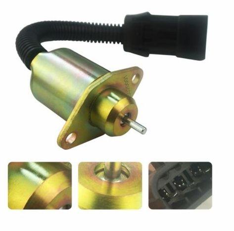 Mover Parts Fuel Shutoff Solenoid 8973295680 MV1-81 for Isuzu 3LD1 3LD2 4LE1 3LB1 4LB1 Engines