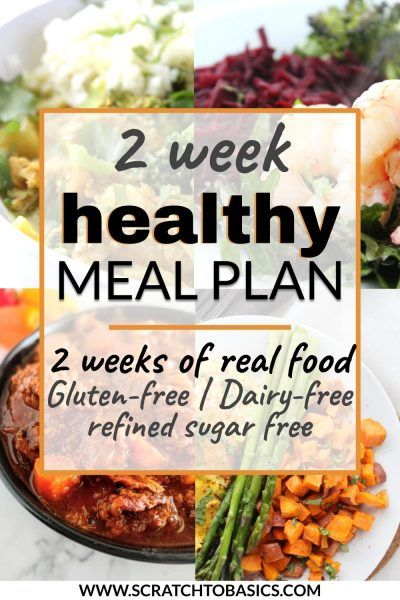 Two Week Paleo Meal Plan With Grocery List And Recipes In 2020 Sugar Free Recipes Dinner Gluten Free Meal Plan Healthy Eating Meal Plan
