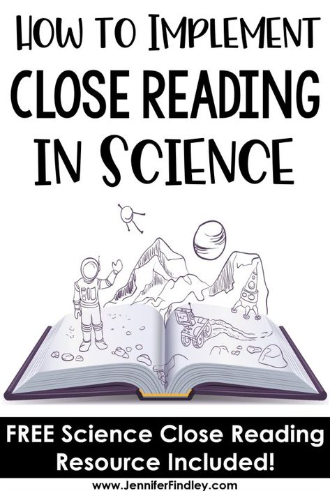 Close reading in science class? This post shares strategies and a free resource … Close reading in science class? This post shares strategies and a free resource for implementing close reading in science instruction. 7th Grade Science, Primary Science, Middle School Science, Elementary Science, Science Classroom, Teaching Science, Science Education, Physical Science, Science Today