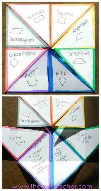 10 Ways to Review the Attributes of Geometric Shapes