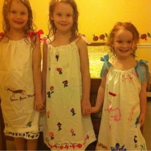 How to Make a Pillowcase Nightgown: A quick, easy and cheap Summer craft!