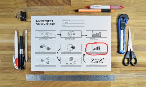 Wonderful Project Storyboard Sketch On Paper Prezi Template For Presentations | Prezi  Templates | Pinterest