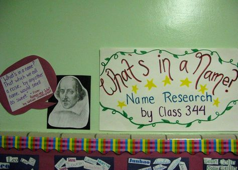 Third Grade Gifted Classroom  Name Research project to start the year!  LOVE THIS!!