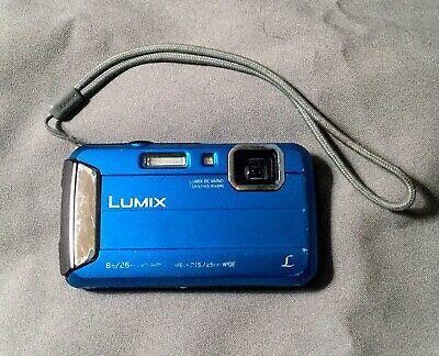 Panasonic Lumix Dmc Ts30 Blue Digital Camera Waterproof Digital Camera Digital Panasonic Lumix