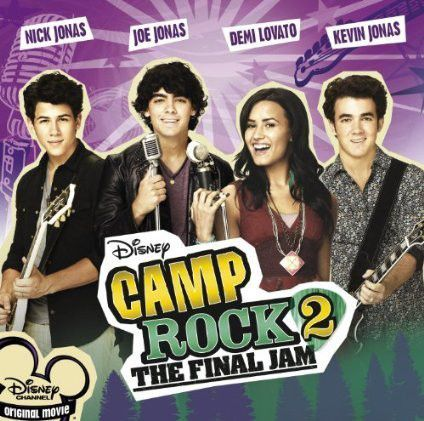 Nick Jonas Joe Jonas Kevin Jonas Demi Lovato Camp Rock 2 The Final Jam 2010 Camp Rock Rock Songs Disney Camping
