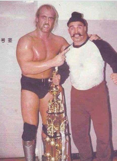 ingen moms Forenede Stater nye lavere priser Hulk Hogan and Iron Sheik | Wrestling superstars, Watch ...