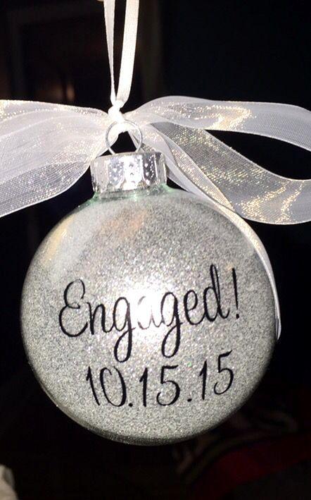 Hallmark Engagement Ornaments Ideas Engagement Ornaments Engagement Gifts Engagement Gifts For Couples