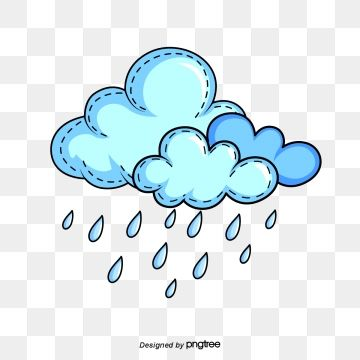 Png Rain Cloud Cartoon Clouds Cloud Illustration Cartoon Clip Art
