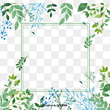 Small Fresh Green Flowers Border Texture Png Free Download Flower Border Clipart Small Fresh Green Png Transparent Clipart Image And Psd File For Free Downlo Flower Border Flower Border Png Watercolor
