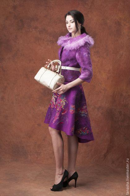 027113b6ed5 Купить или заказать Валяная юбка  Весенняя  в интернет-магазине на Ярмарке  Мастеров.