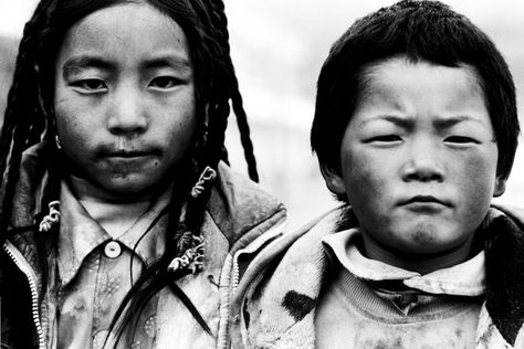 Tibetan children by Peanutsalad on DeviantArt