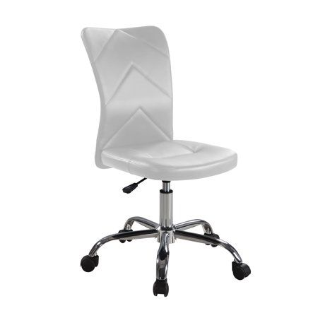 Mainstays Chevron Adjule Height Armless Task Chair