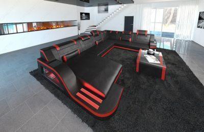 13 Unterhaltsam Wohnlandschaft Leder Xxl Couch Modern Couch Leather Sofa