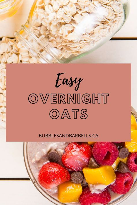 Not only is oatmeal great for breakfast, but it's a filling snack that can be packed with protein and good carbs! There are plenty of ways to make it flavourful and never boring!   Read more to get some yummy recipes!  #easyoatsrecipessnacks #oatmealrecipeshealthy #healthybreakfastideas #proteinbreakfastrecipes
