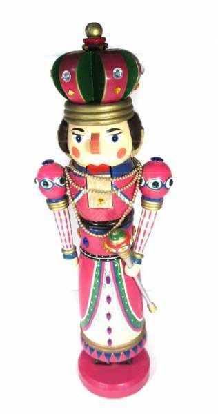 shopgoodwill.com: 24-inch Wooden Female Nutcracker