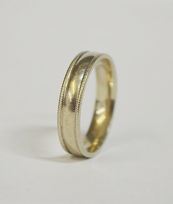 Ebay Advertisement Men S 10k Rmi Comfort Fit Wedding Band W Coined Edges 7 2g Tw Size 13 25 Gold Rings Simple Wedding Ring Bands Comfort Fit Wedding Band